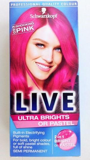 Schwarzkopf Live Pink Hair Dont Care Zonamov